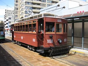 とある広島電鉄8番線電車