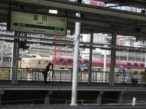 サンライズin品川駅
